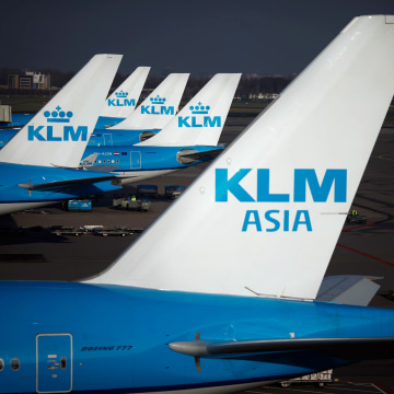 Image: KLM planes