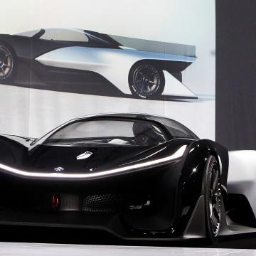 Tesla Who? Faraday Reveals Futuristic Electric Car