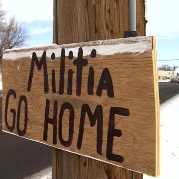 Image: Militia Go Home