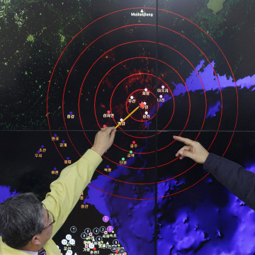 Image: South Korea Reacts As North Korea Confirms Hydrogen Bomb Test