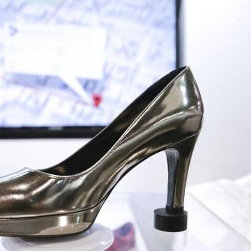 Image: A high heel Digitsole smart shoe