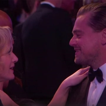 IMAGE: Kate Winslet and Leonardo DiCaprio