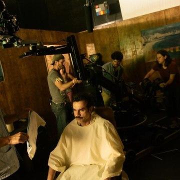 "Filming ""Contrapelo"""