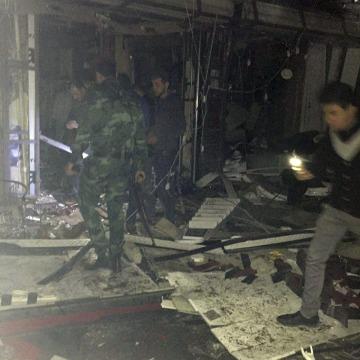 IMAGE: Iraqi mall attack
