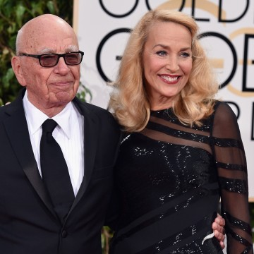 Image: Rupert Murdoch and Jerry Hall