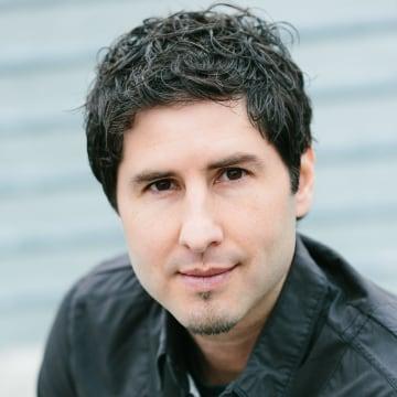 Author Matt de la Peña' Last Stop on Market Street.'