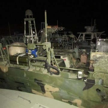 Image: IRGC shows U.S. navy vessel
