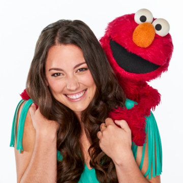 Actress Suki Lopez, Elmo