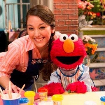 Nina, Elmo, Sesame Street