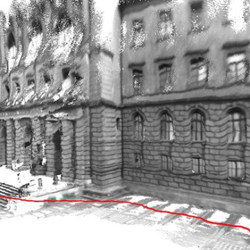 A Short Walk With a Tablet Creates Detailed 3-D Models of Buildings