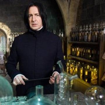 Image: Alan Rickman as Severus Snape