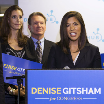 Image: Gitsham announces she will run for Congress as a Republican in the 52nd Congressional District in San Diego.