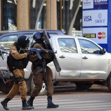 Image: Militant attack in Ouagadougou