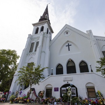 Reverend Clementa Pinckney Viewing at Emanuel AME Church