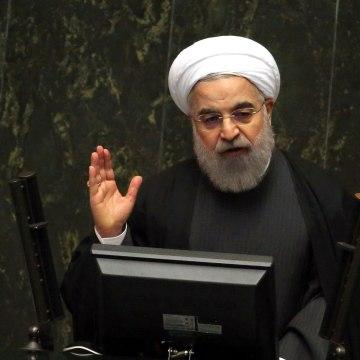 Image: IRAN-ECONOMY-BUDGET-ROUHANI