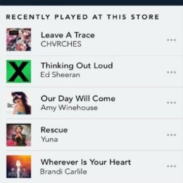 Save Songs You Hear at Starbucks On Spotify