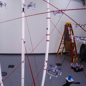 Drones Fly Through Obstacle Course Without a Ding in Researchers' Video