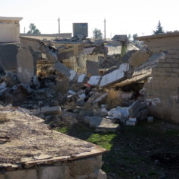 Image: Destroyed homes