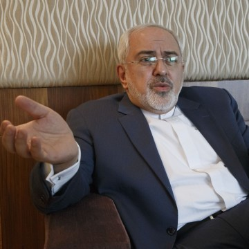 Image: Iranian Foreign Minister Mohammad Javad Zarif