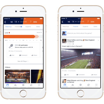 Facebook 'Sports Stadium' Lets You Talk Trash on Game Day