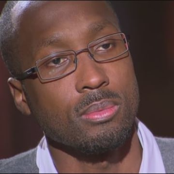 Image: Rudy Guede gave his first interview to RAI 3.