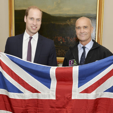 Image: Prince William and Henry Worsley