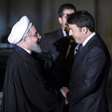 Image: Italian President Rouhani in Italy