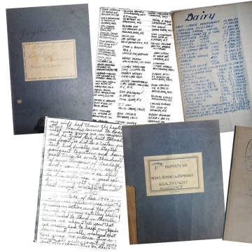 Image: Master Sgt. Roddie Edmonds' diaries