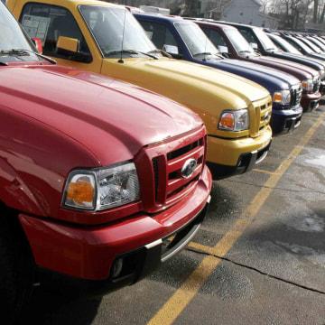 Image: Ford Ranger pickup trucks