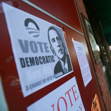 African Americans In South Celebrate Obama's Historic Win