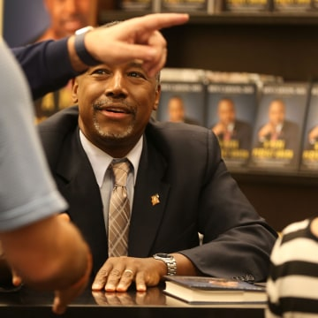 GOP Presidential Candidate Ben Carson Takes Book Tour To Florida