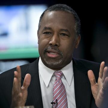 Presidential Candidate Ben Carson Bloomberg Politics Interview