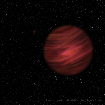 Image: Alien Planet 2MASS J2126