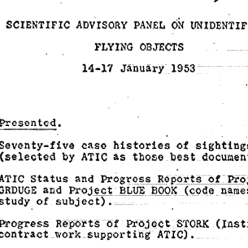 CIA Posts 'X-Files' UFO Documents for Both Believers and Skeptics