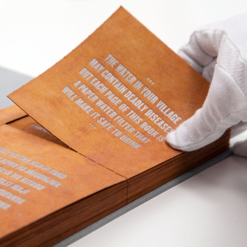 Image: The Drinkable Book™