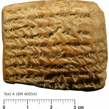 Ancient Tablet Shows Babylonians Used Calculus to Track Planets