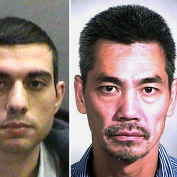 Image: Orange County inmates Jonathan Tieu, Hossein Nayeri and Bac Duong