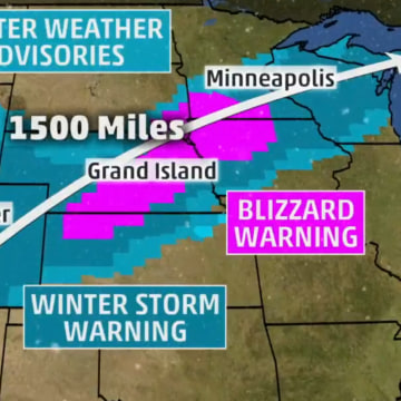Image: Tuesday's forecast