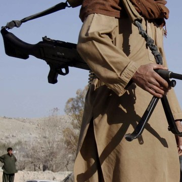 Image: A Taliban fighter