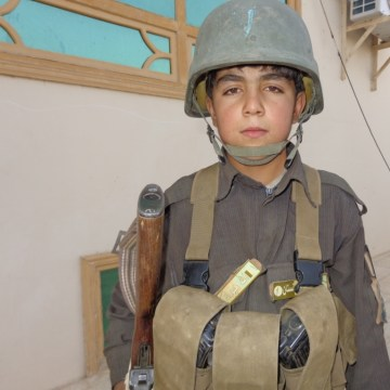 image: Wasil Ahmad, 12, poses in an undated photo