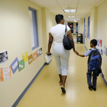 First Day of School at the Inspired Teaching Demonstration Public Charter School - Washington, DC