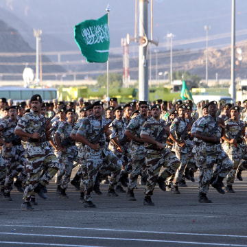 Image: Report: Saudi Arabia is ready to join ground forces in Syria