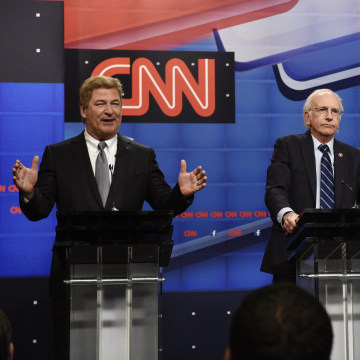 "Image: SNL's ""Democratic Debate Cold Open"" sketch"
