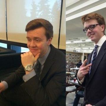 IMAGE: Jordan Caldwell (L) and twin brother Evan (R).