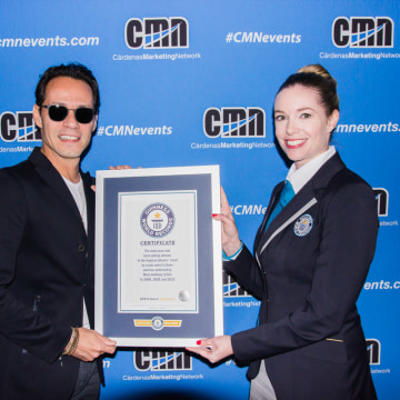 Marc Anthony, Guinness World Record