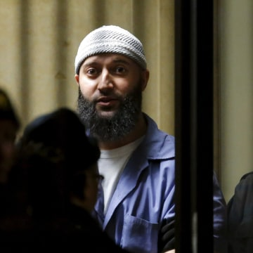 Image: Convicted murderer Adnan Syed leaves the Baltimore City Circuit Courthouse in Baltimore, Maryland