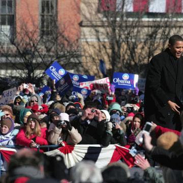 Image: Barack Obama Announces Run For President