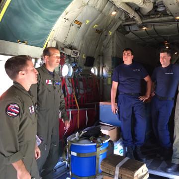 IMAGE: Coast Guard rescue crew
