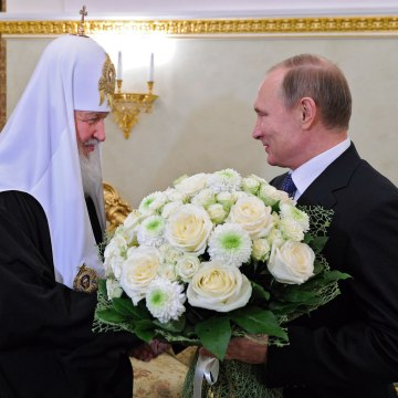 Image: Vladimir Putin, Patriarch Kirill