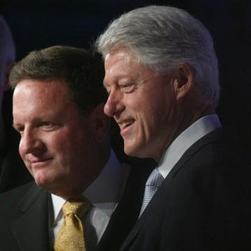 Image: Ron Burkle, Bill Clinton